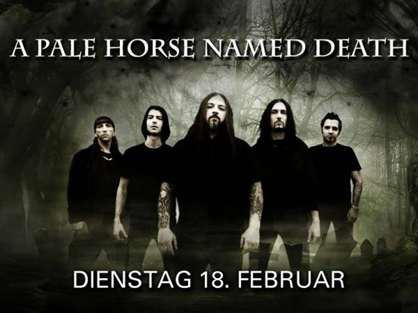 A Pale Horse Named Death @ Pratteln