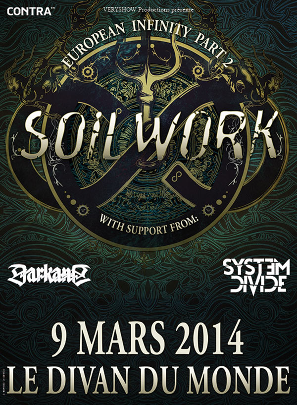Soilwork @ Paris