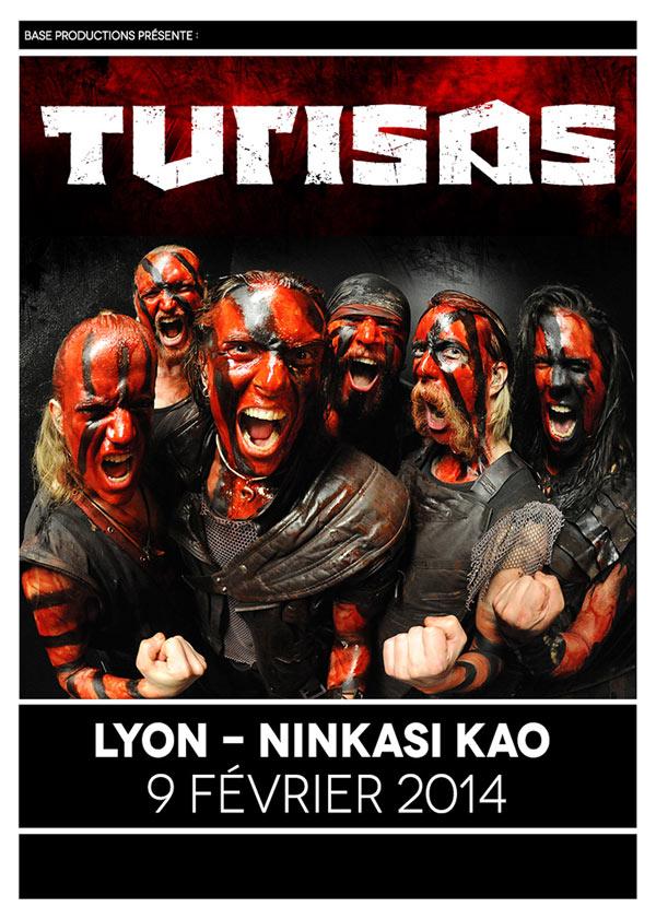 Turisas @ Lyon
