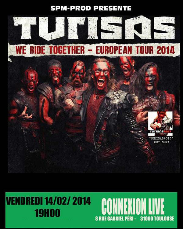 Turisas @ Toulouse