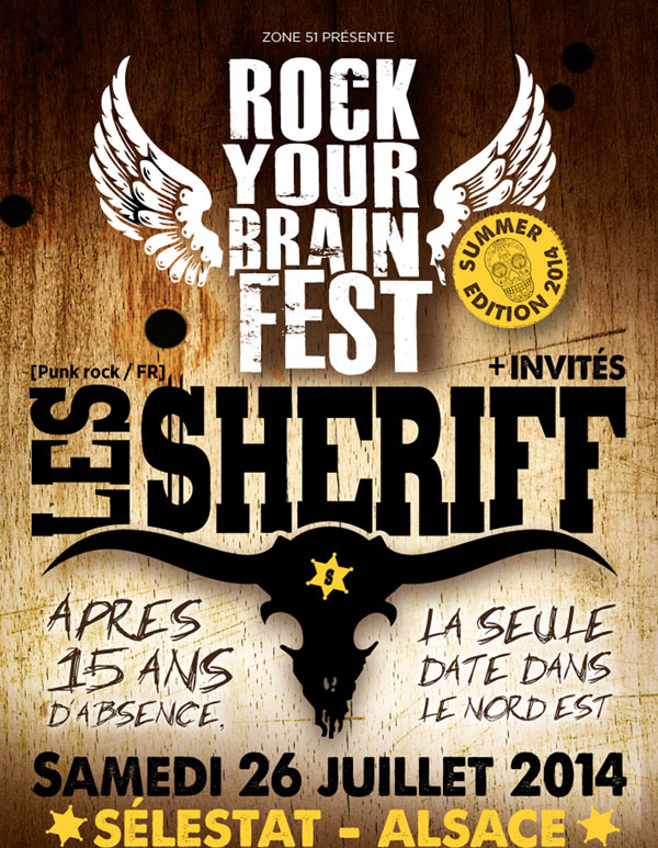 ROCK YOUR BRAIN FEST - SUMMER @ Sélestat