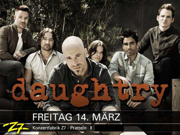 Daughtry @ Pratteln