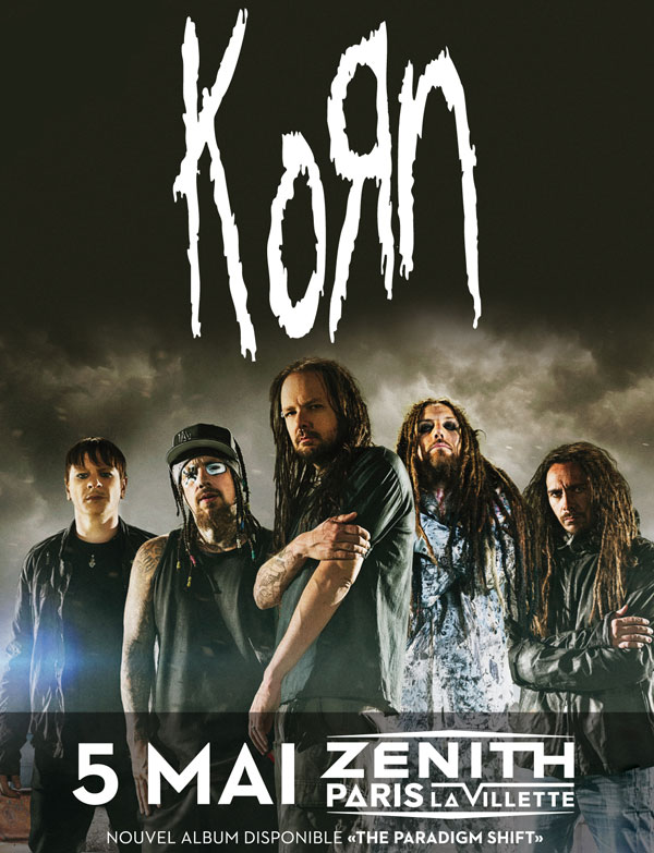 Korn @ Paris