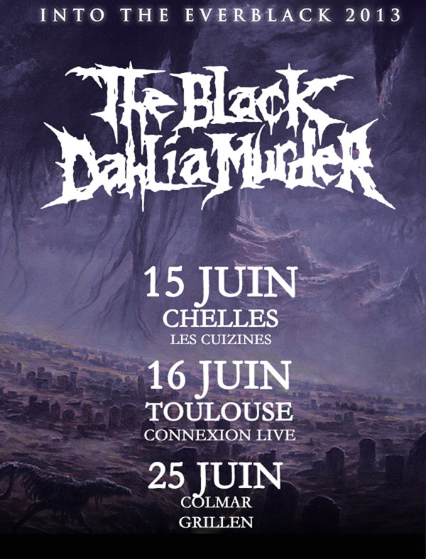 The Black Dahlia Murder @ Colmar