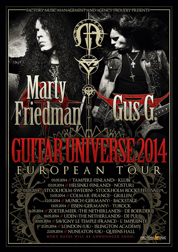 Marty Friedman @ Colmar