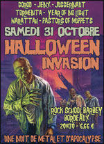 Halloween Invasion @ Bordeaux
