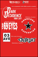 Dar Decadence Tour 2011 @ Savigny Le Temple