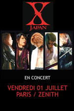 X Japan @ Paris