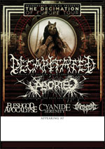 Decapitated @ Lyon