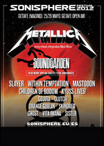 SONISPHERE FESTIVAL 2012 @ Madrid (espagne)