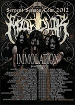 De Profundis, Forkasen Word, Immolation...