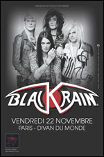 Blackrain @ Paris