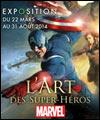 Réservation L'ART DES SUPER-HEROS MARVEL